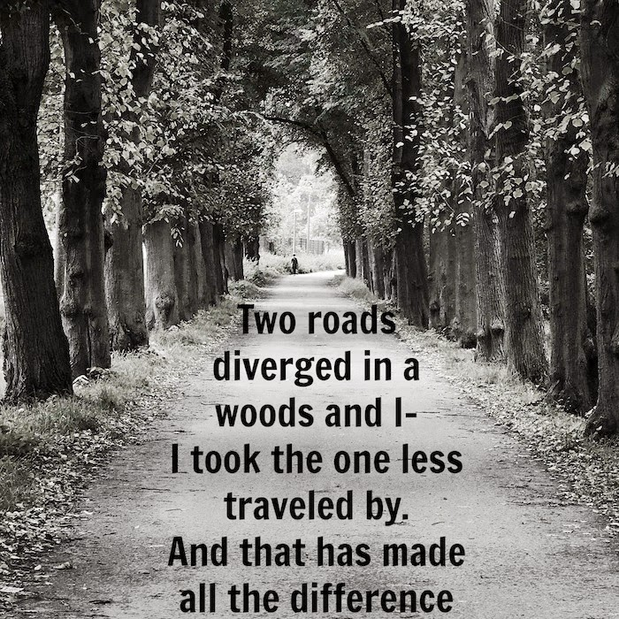 Robert Frost two roads