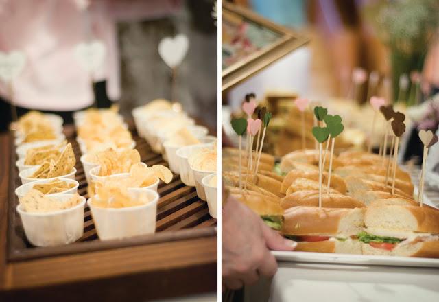 Sandwiches para eventos