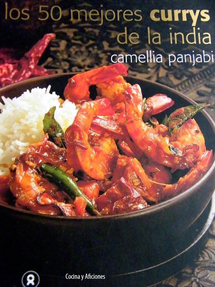 Libro Los 50 mejores currys de La India