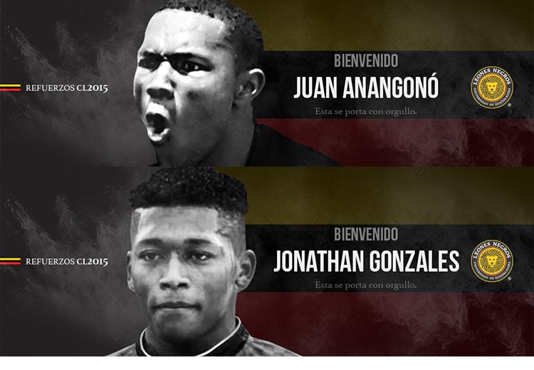 2 refuerzos ecuatorianos más Leones Negros