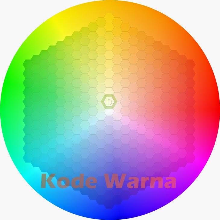Kumpulan kode warna untuk weblog (CSS/HTML)