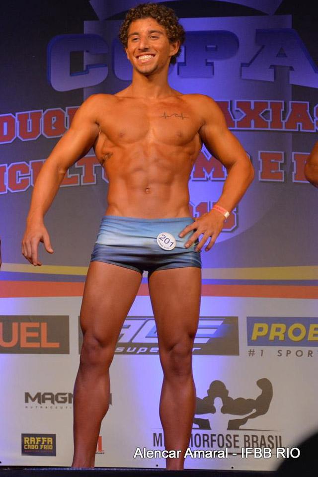 O atleta de 21 anos ficou surpreso com o terceiro lugar. Foto: Alencar Amaral