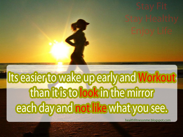 Morning Workout Quotes Glamorous Workout In The Morning Quote  The Best Collection Of Quotes