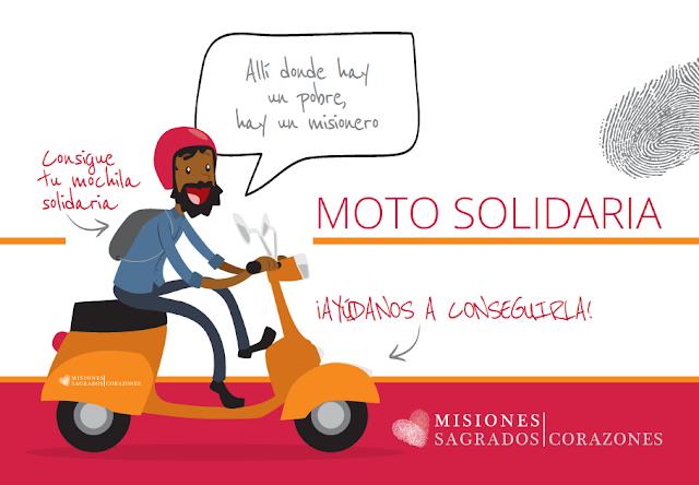 Campaña para conseguir una moto para un misionero