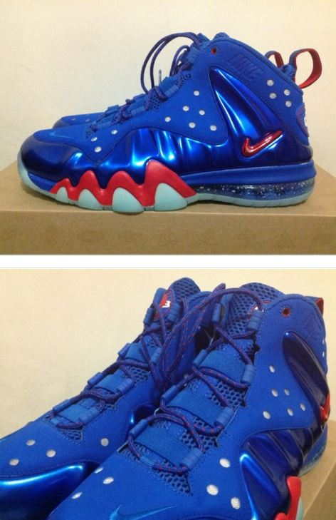 """Nike Barkley Posite Max """"Sixers"""" Sneakers (New Images + Release"""