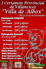"""I Certamen Provincial de Villancicos """"VILLA DE ALBOX"""""""