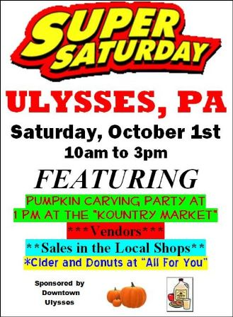 10-1 ULYSSES SUPER SATURDAY