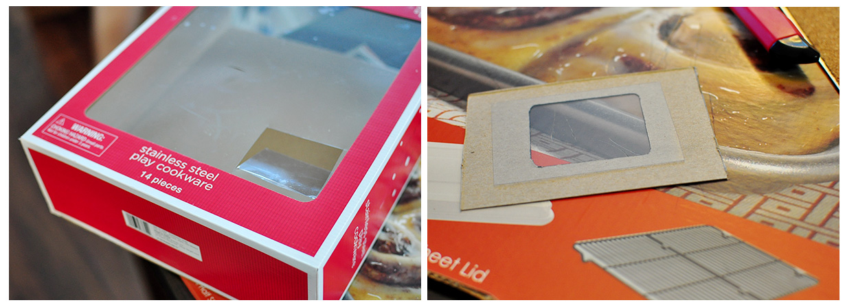 The Cheese Thief: Low Tech Cardboard Tv