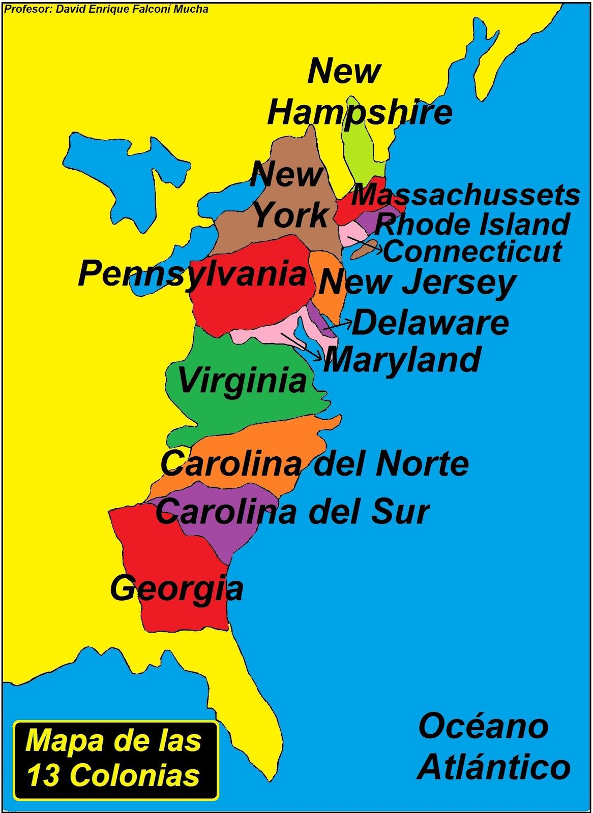 la revolucion de las 13 colonias inglesas: