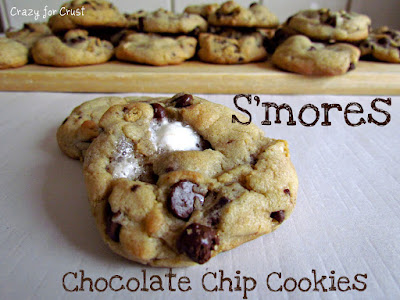 chocolate chip cookies with marshmallows