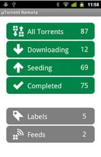 download torrent su PC da smartphone android