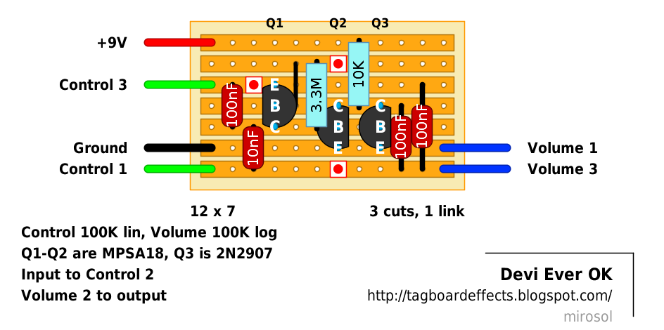 general help with vero wiring diypedals cucv wiring diagram if i'm following this general wiring diagram, what do i do with the input outputs? i'm used to them being on the board,