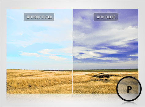 Filter Lensa DSLR untuk memoto Landscape (Filter Polarizing)