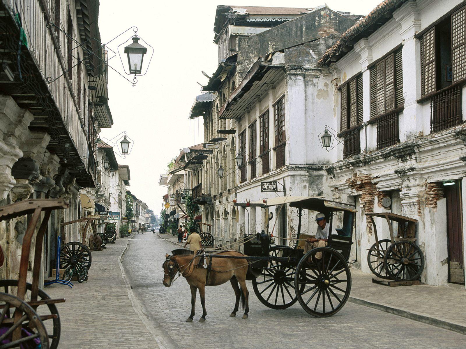 Vigan Beautiful Tourist Spot In The World