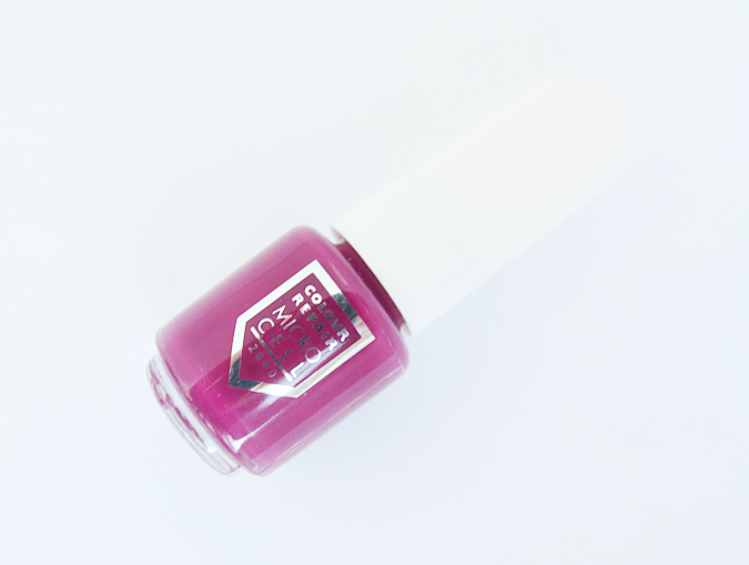 micro cell nail color repair polish raspberry kiss