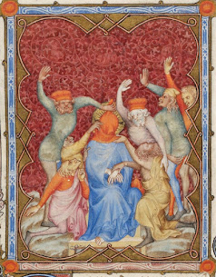 Meditation on the Passion – The Mocking of Christ by Fra Angelico