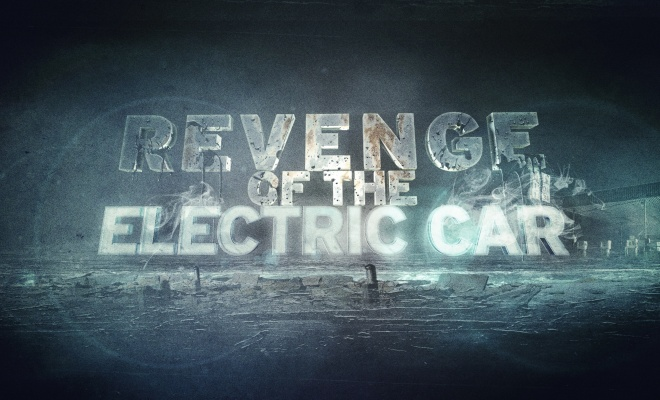 Revenge of the Electric Car title screen