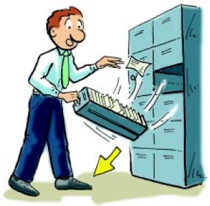 Seguridad e higiene en la oficina 3 seguridad en la oficina for Riesgos laborales en oficinas administrativas
