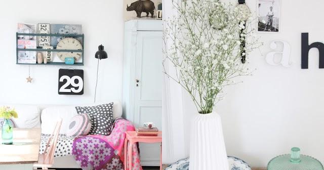 Casa n rdica en tonos pastel la garbatella blog de for Decoracion nordica low cost