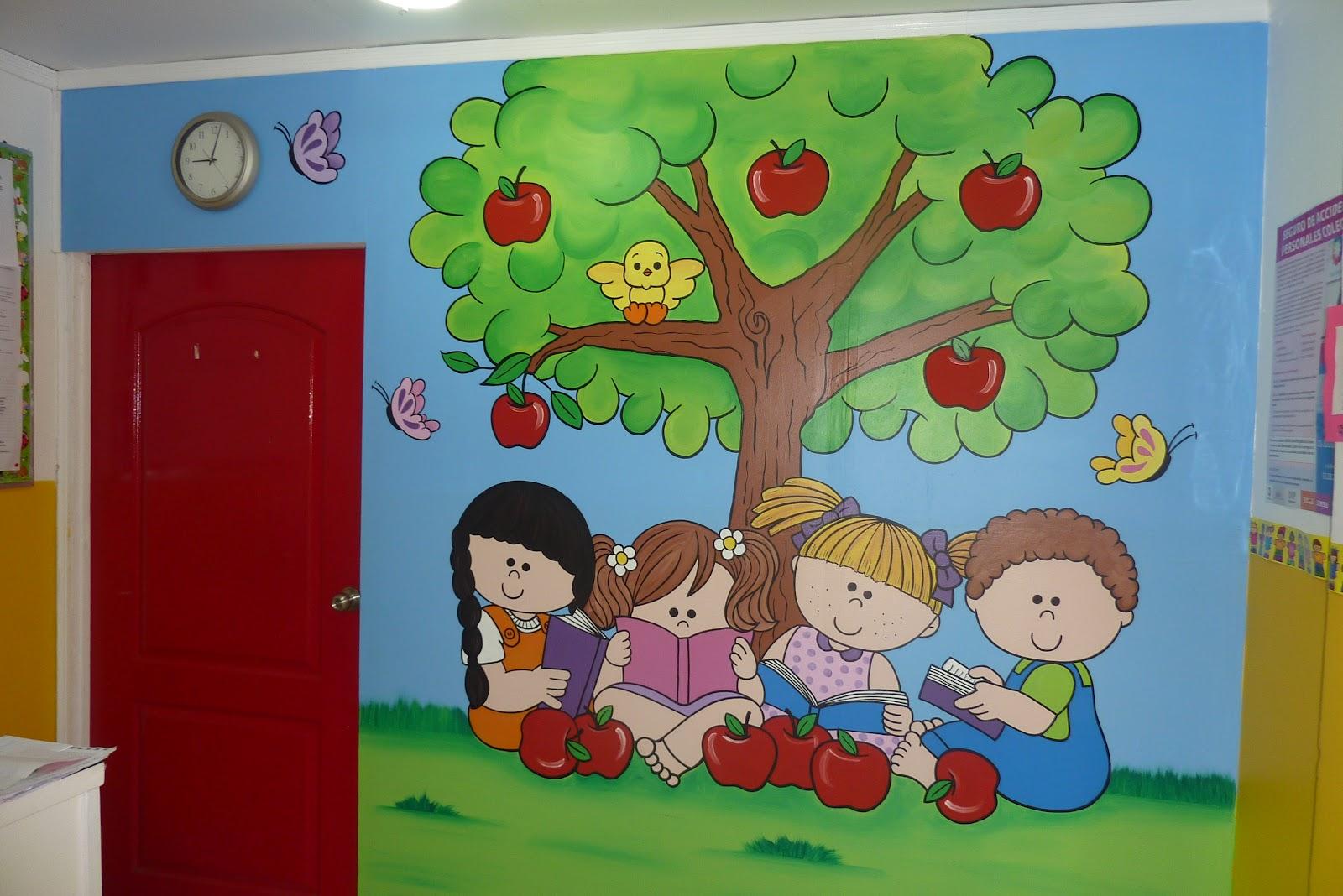 Murales javitz guarderia sedesol - Mural pared infantil ...