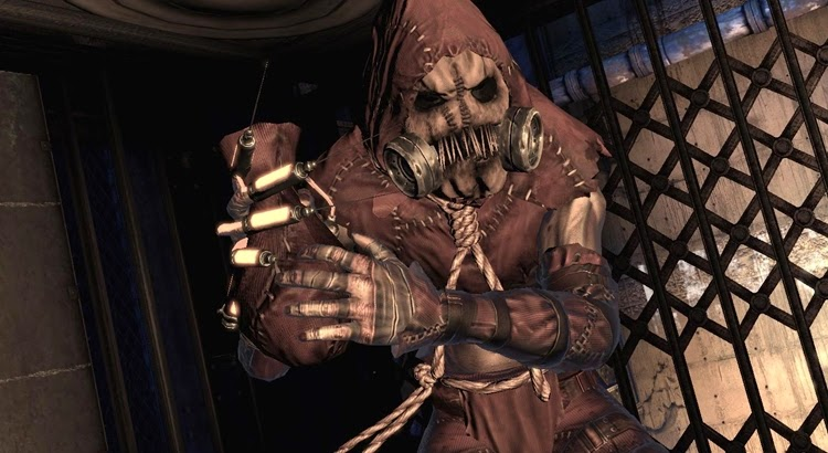 Espantapájaros Arkham Asylum
