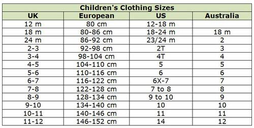 Uk Europe Shoe Size Convert