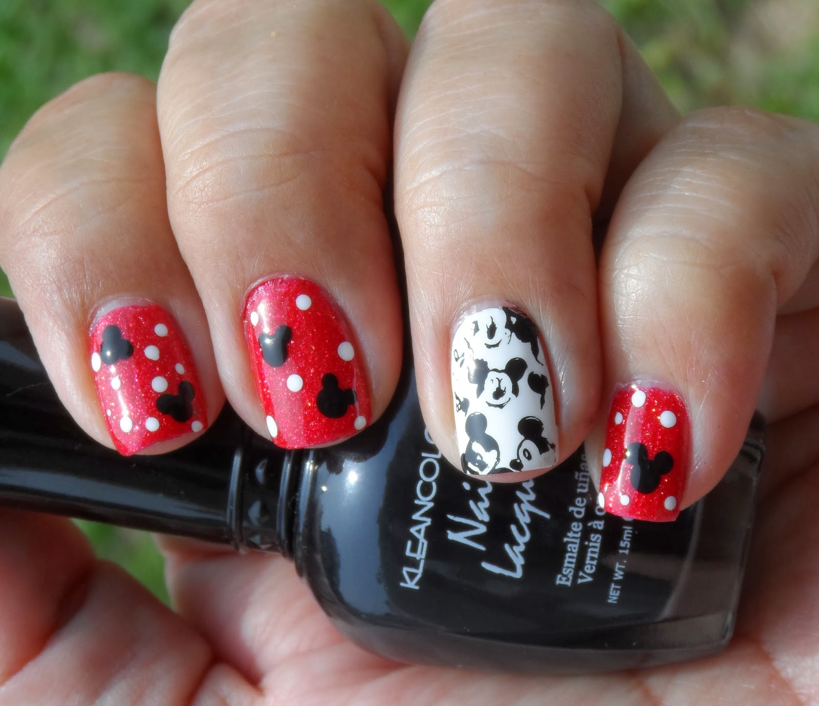 Mickey Mouse Nails: Just Me And My Nails: Mickey Mouse Nails