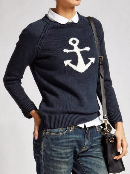Nautical by Nature | Nautical Sweaters Jack Wills Aldridge Crew