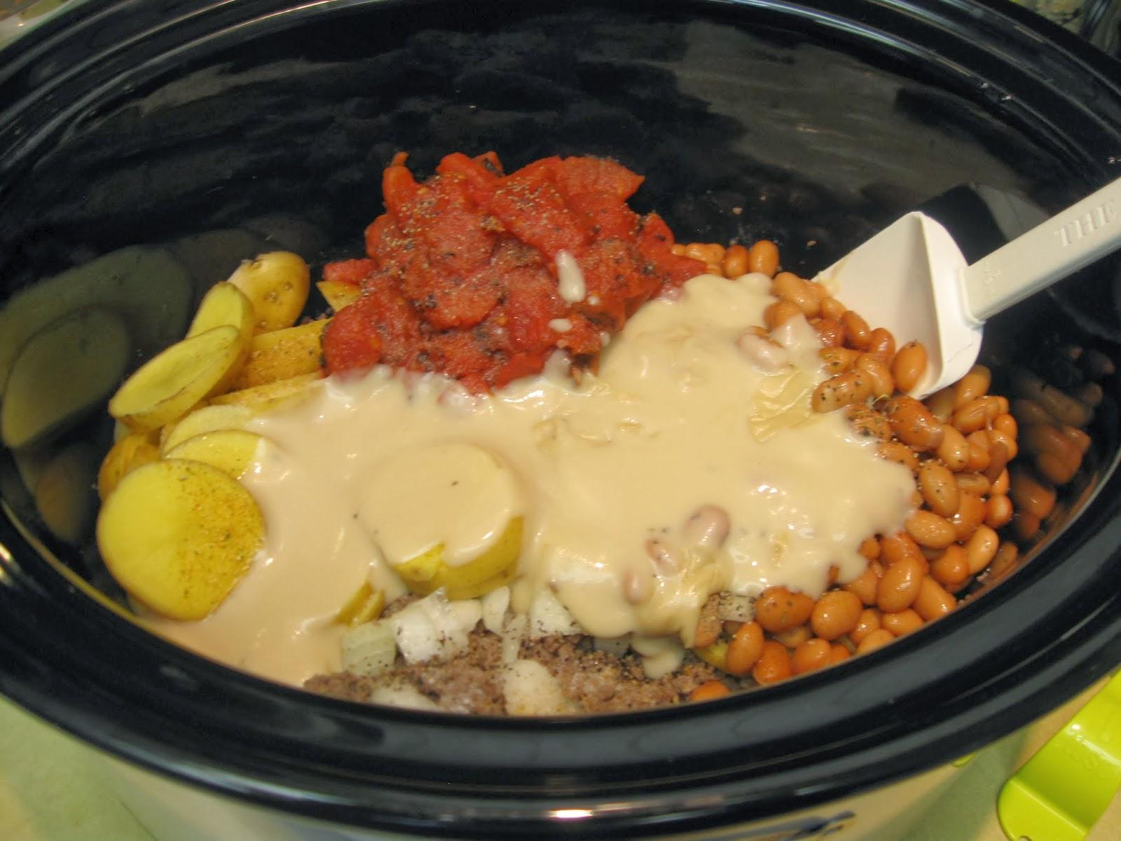 IMG_0297 taste and see god's goodness crockpot cheesy cowboy casserole