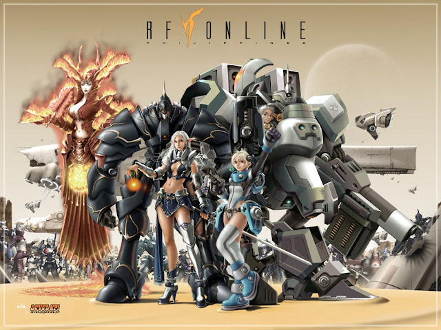 rf online mmo game