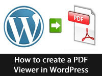 How to create a PDF viewer in WordPress