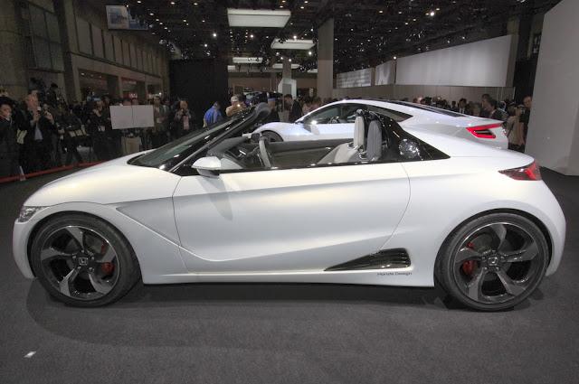 Honda S660 Concept, presentación
