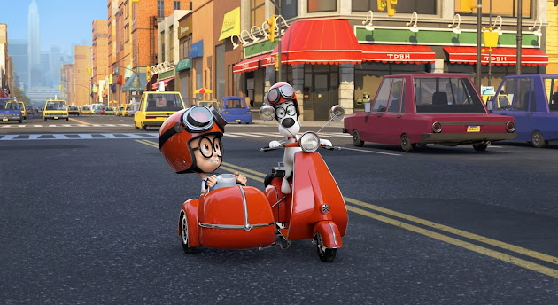 Pemain Mr Peabody & Sherman