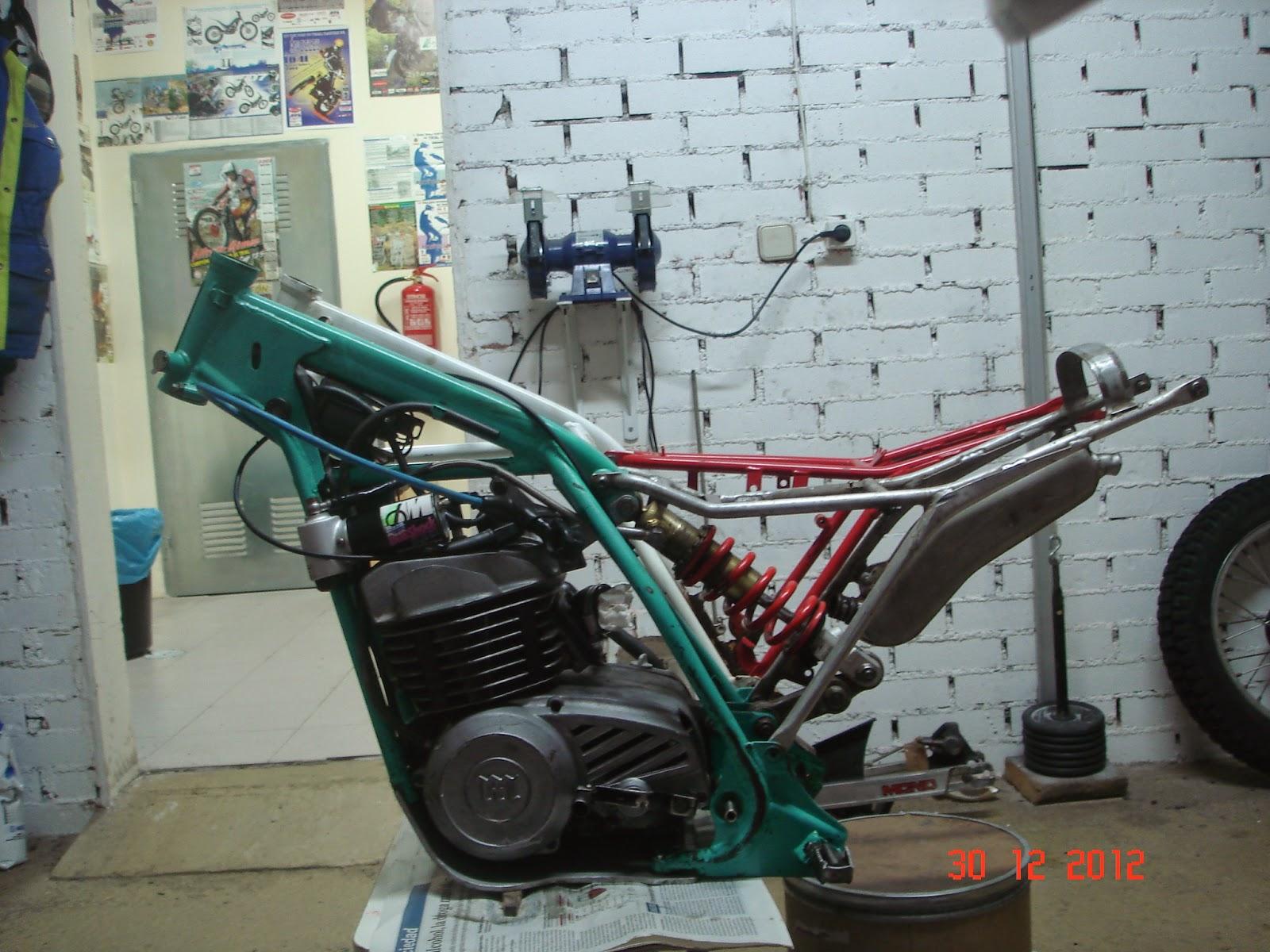 Mecánica de MONTESA cota: Cota Prototipo Open I: El chasis