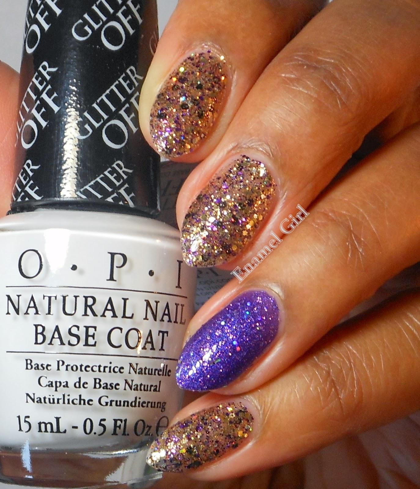 Enamel Girl: OPI Glitter Off Natural Nail Peel Off (Peelable) Base ...