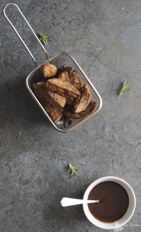receta salsa barbacoa y patatas deluxe