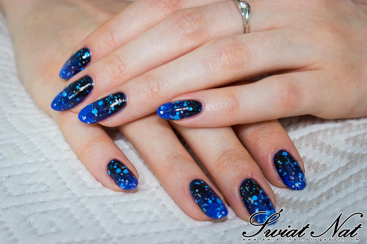 nails nailart carnival glitter ombre essie