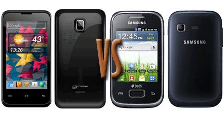 Micromax A87 Superfone Ninja 4.0 vs Samsung Galaxy Y Duos Lite