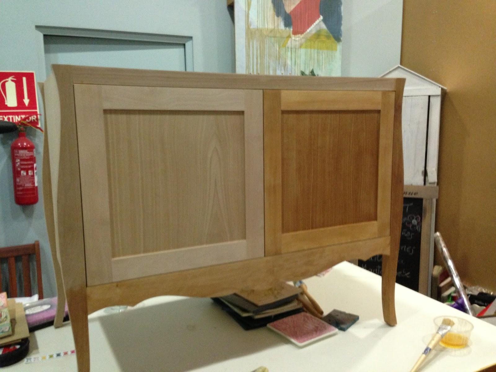 Muebles Pintados De Colores Imagen Pintura Tiza Uclos Muebles  # Muebles Sin Barnizar