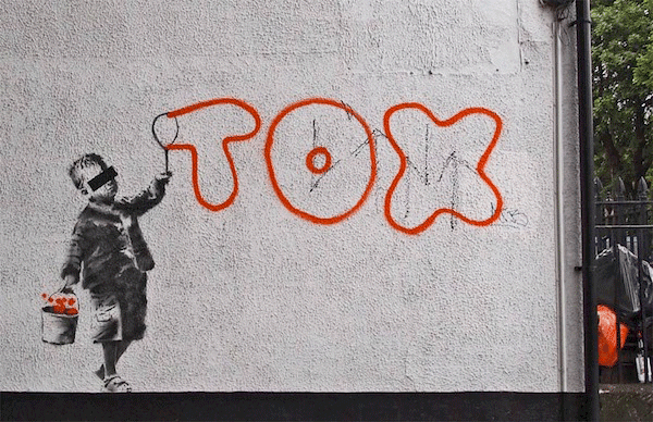Banksy - Tox