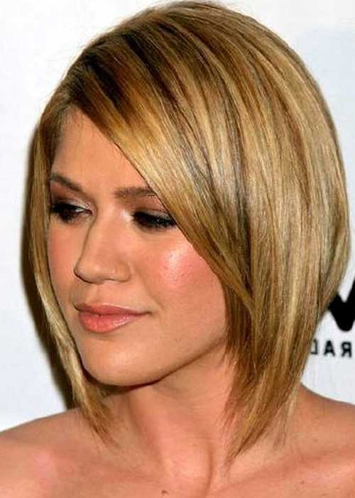 10 latest short straight haircuts for round faces jere
