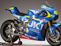 Tampilan Tim Pembalap Motor Suzuki MotoGP 2015