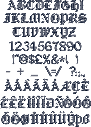 Just for our graffiti fonts design ideas this old english