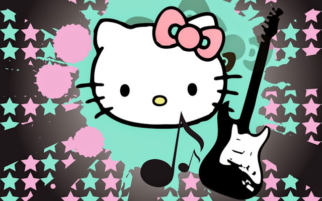 2090901-Hello Kitty Music HD Wallpaperz