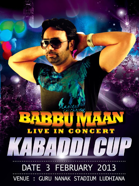 Babbu Maan Live In Concert - 3 Feb, 2013