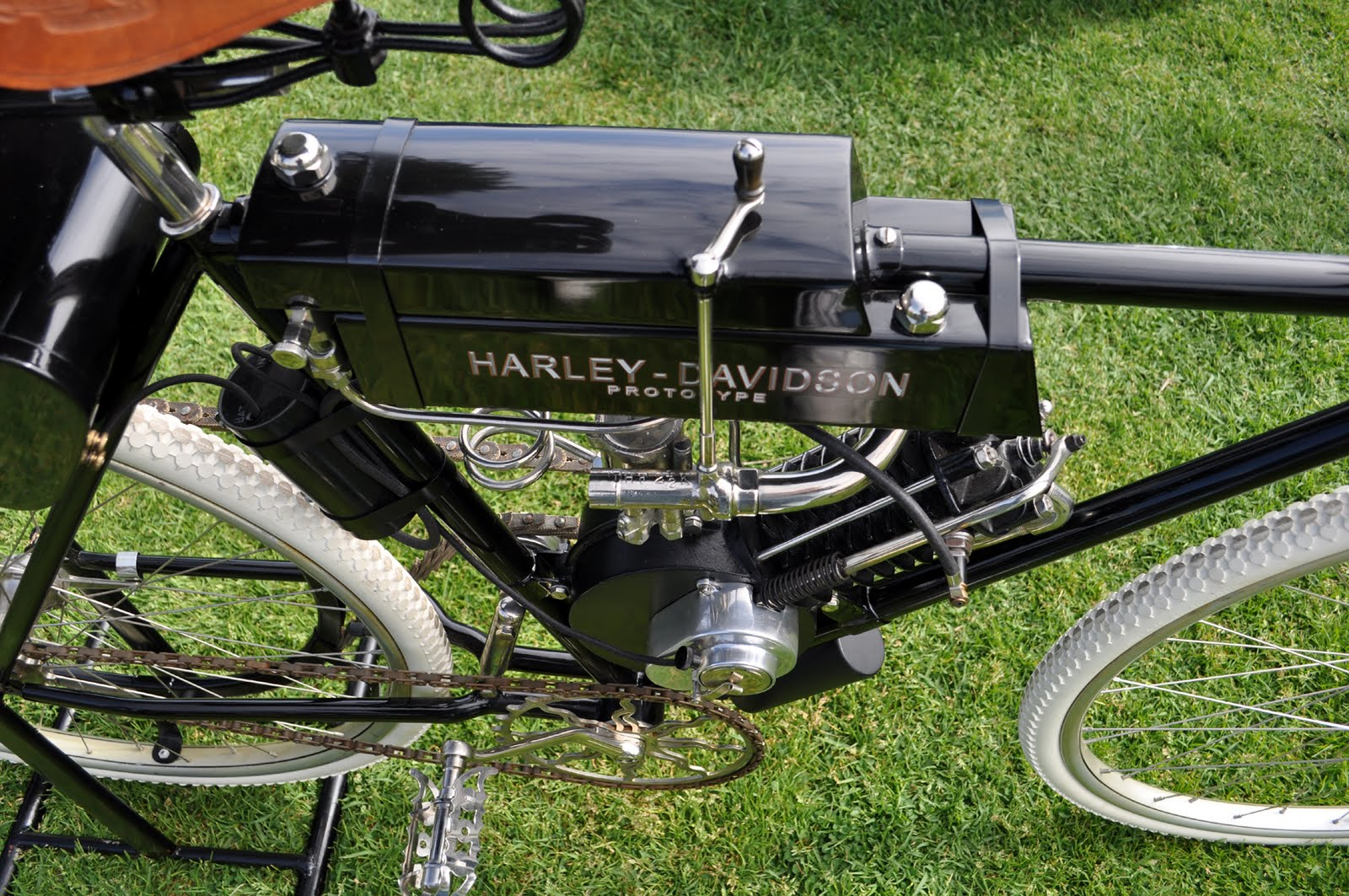 Just A Car Guy 1901 Tandem Motor Cycle 1913 Iver Johnson