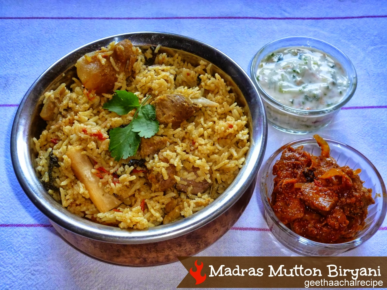 Madras Mutton Biryani