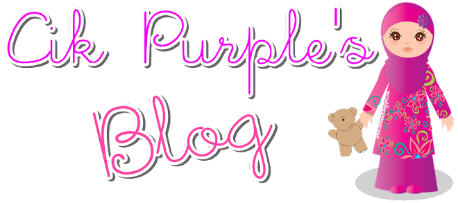 !✿Cik Purple Punya Blog✿!