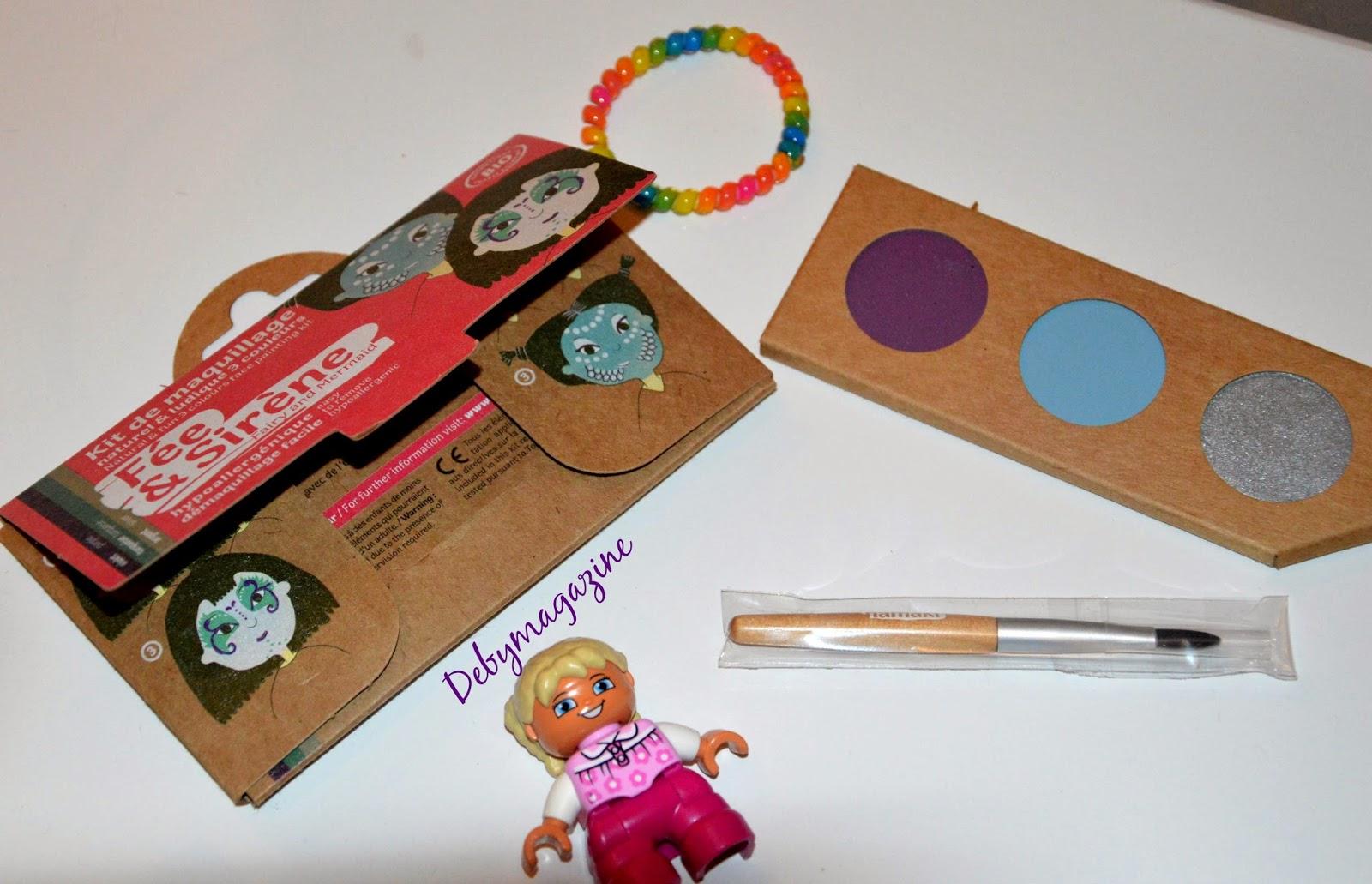 Kit de maquillage pour enfant, fée et sirène