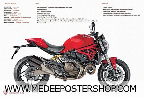 Ducati Big Bike Poster - 7493